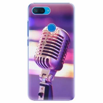 Plastové pouzdro iSaprio - Vintage Microphone - Xiaomi Mi 8 Lite