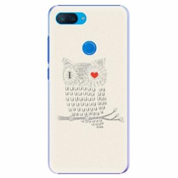 Plastové pouzdro iSaprio - I Love You 01 - Xiaomi Mi 8 Lite