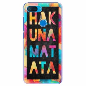 Plastové pouzdro iSaprio - Hakuna Matata 01 - Xiaomi Mi 8 Lite