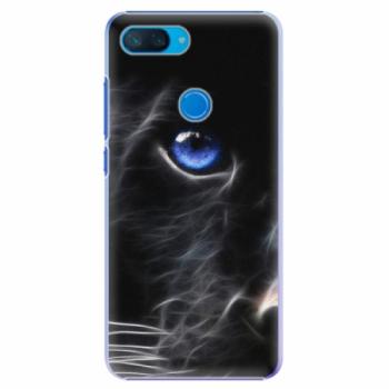 Plastové pouzdro iSaprio - Black Puma - Xiaomi Mi 8 Lite