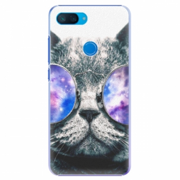 Plastové pouzdro iSaprio - Galaxy Cat - Xiaomi Mi 8 Lite