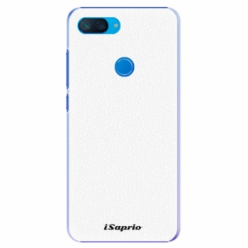 Plastové pouzdro iSaprio - 4Pure - bílý - Xiaomi Mi 8 Lite