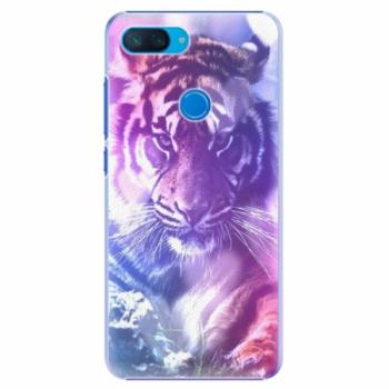 Plastové pouzdro iSaprio - Purple Tiger - Xiaomi Mi 8 Lite