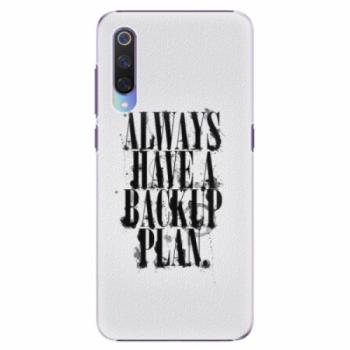 Plastové pouzdro iSaprio - Backup Plan - Xiaomi Mi 9