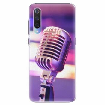 Plastové pouzdro iSaprio - Vintage Microphone - Xiaomi Mi 9