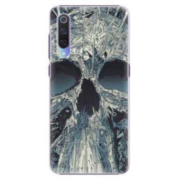 Plastové pouzdro iSaprio - Abstract Skull - Xiaomi Mi 9