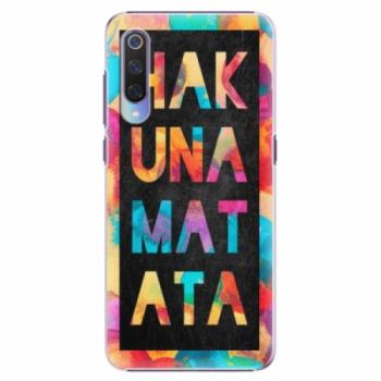 Plastové pouzdro iSaprio - Hakuna Matata 01 - Xiaomi Mi 9