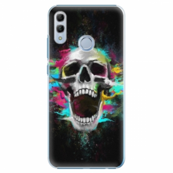 Plastové pouzdro iSaprio - Skull in Colors - Huawei Honor 10 Lite
