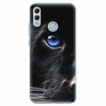 Plastové pouzdro iSaprio - Black Puma - Huawei Honor 10 Lite