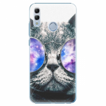 Plastové pouzdro iSaprio - Galaxy Cat - Huawei Honor 10 Lite
