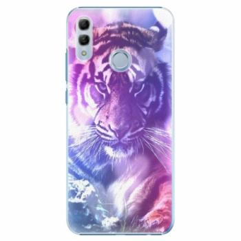Plastové pouzdro iSaprio - Purple Tiger - Huawei Honor 10 Lite