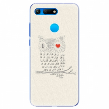 Plastové pouzdro iSaprio - I Love You 01 - Huawei Honor View 20