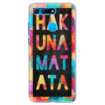 Plastové pouzdro iSaprio - Hakuna Matata 01 - Huawei Honor View 20