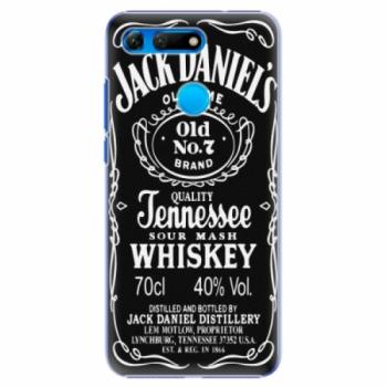 Plastové pouzdro iSaprio - Jack Daniels - Huawei Honor View 20