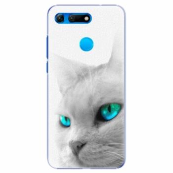 Plastové pouzdro iSaprio - Cats Eyes - Huawei Honor View 20