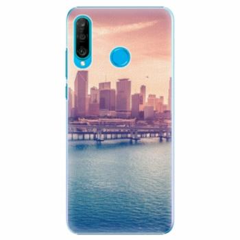 Plastové pouzdro iSaprio - Morning in a City - Huawei P30 Lite