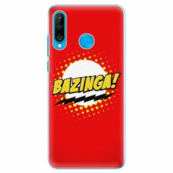 Plastové pouzdro iSaprio - Bazinga 01 - Huawei P30 Lite