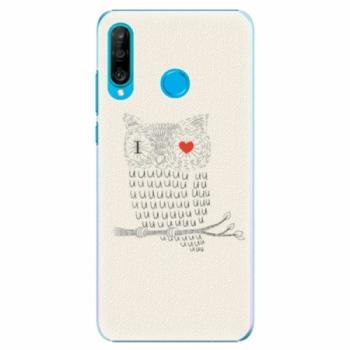 Plastové pouzdro iSaprio - I Love You 01 - Huawei P30 Lite