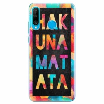 Plastové pouzdro iSaprio - Hakuna Matata 01 - Huawei P30 Lite