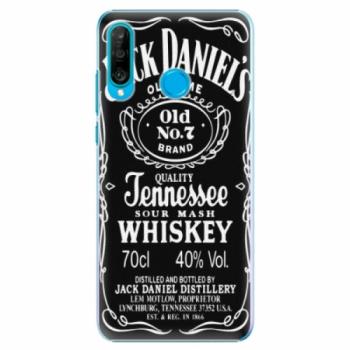 Plastové pouzdro iSaprio - Jack Daniels - Huawei P30 Lite
