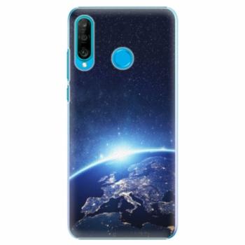 Plastové pouzdro iSaprio - Earth at Night - Huawei P30 Lite