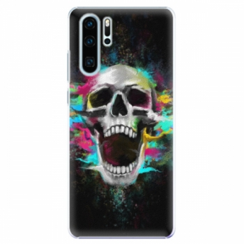 Plastové pouzdro iSaprio - Skull in Colors - Huawei P30 Pro