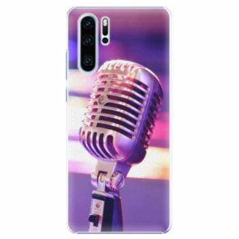 Plastové pouzdro iSaprio - Vintage Microphone - Huawei P30 Pro