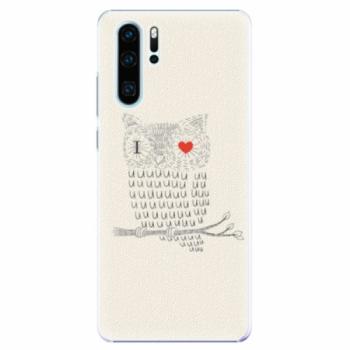 Plastové pouzdro iSaprio - I Love You 01 - Huawei P30 Pro