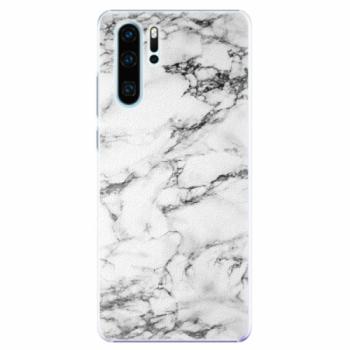 Plastové pouzdro iSaprio - White Marble 01 - Huawei P30 Pro