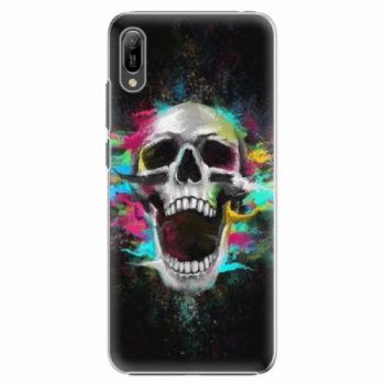 Plastové pouzdro iSaprio - Skull in Colors - Huawei Y6 2019