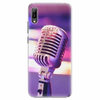 Plastové pouzdro iSaprio - Vintage Microphone - Huawei Y6 2019