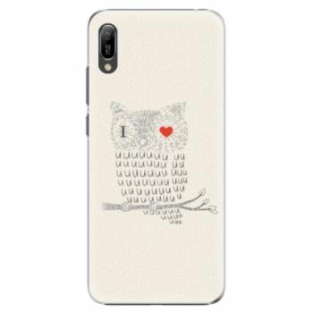 Plastové pouzdro iSaprio - I Love You 01 - Huawei Y6 2019
