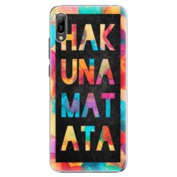 Plastové pouzdro iSaprio - Hakuna Matata 01 - Huawei Y6 2019