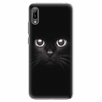 Plastové pouzdro iSaprio - Black Cat - Huawei Y6 2019