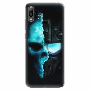 Plastové pouzdro iSaprio - Roboskull - Huawei Y6 2019