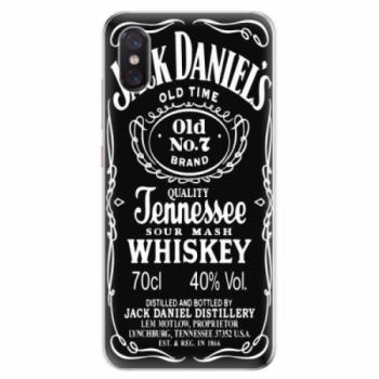 Odolné silikonové pouzdro iSaprio - Jack Daniels - Xiaomi Mi 8 Pro
