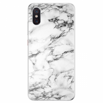 Odolné silikonové pouzdro iSaprio - White Marble 01 - Xiaomi Mi 8 Pro