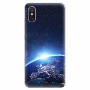 Odolné silikonové pouzdro iSaprio - Earth at Night - Xiaomi Mi 8 Pro