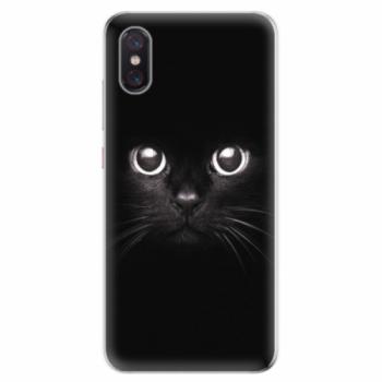 Odolné silikonové pouzdro iSaprio - Black Cat - Xiaomi Mi 8 Pro