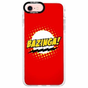 Silikonové pouzdro Bumper iSaprio - Bazinga 01 - iPhone 7