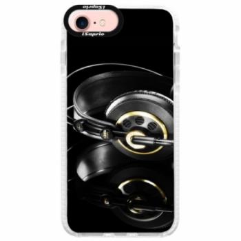 Silikonové pouzdro Bumper iSaprio - Headphones 02 - iPhone 7