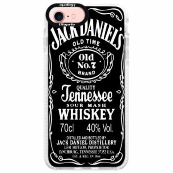 Silikonové pouzdro Bumper iSaprio - Jack Daniels - iPhone 7
