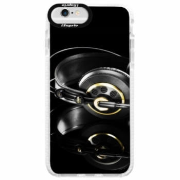 Silikonové pouzdro Bumper iSaprio - Headphones 02 - iPhone 6 Plus/6S Plus