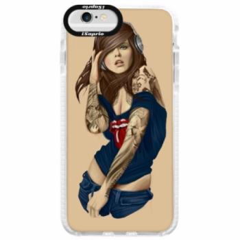 Silikonové pouzdro Bumper iSaprio - Girl 03 - iPhone 6 Plus/6S Plus