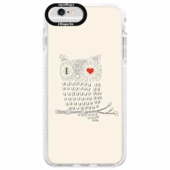 Silikonové pouzdro Bumper iSaprio - I Love You 01 - iPhone 6 Plus/6S Plus