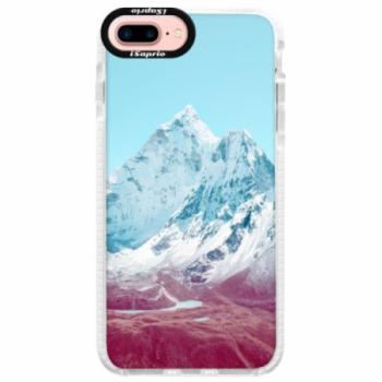 Silikonové pouzdro Bumper iSaprio - Highest Mountains 01 - iPhone 7 Plus