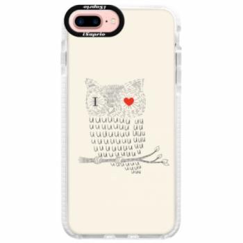 Silikonové pouzdro Bumper iSaprio - I Love You 01 - iPhone 7 Plus
