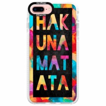 Silikonové pouzdro Bumper iSaprio - Hakuna Matata 01 - iPhone 7 Plus