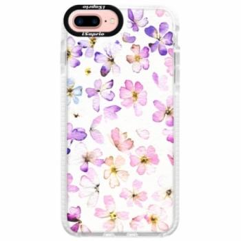 Silikonové pouzdro Bumper iSaprio - Wildflowers - iPhone 7 Plus