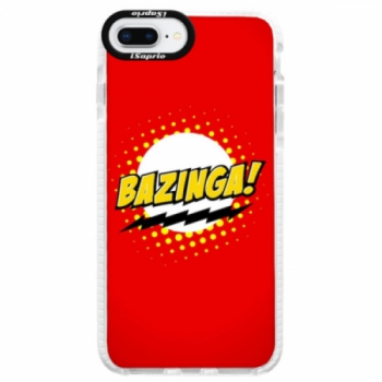 Silikonové pouzdro Bumper iSaprio - Bazinga 01 - iPhone 8 Plus